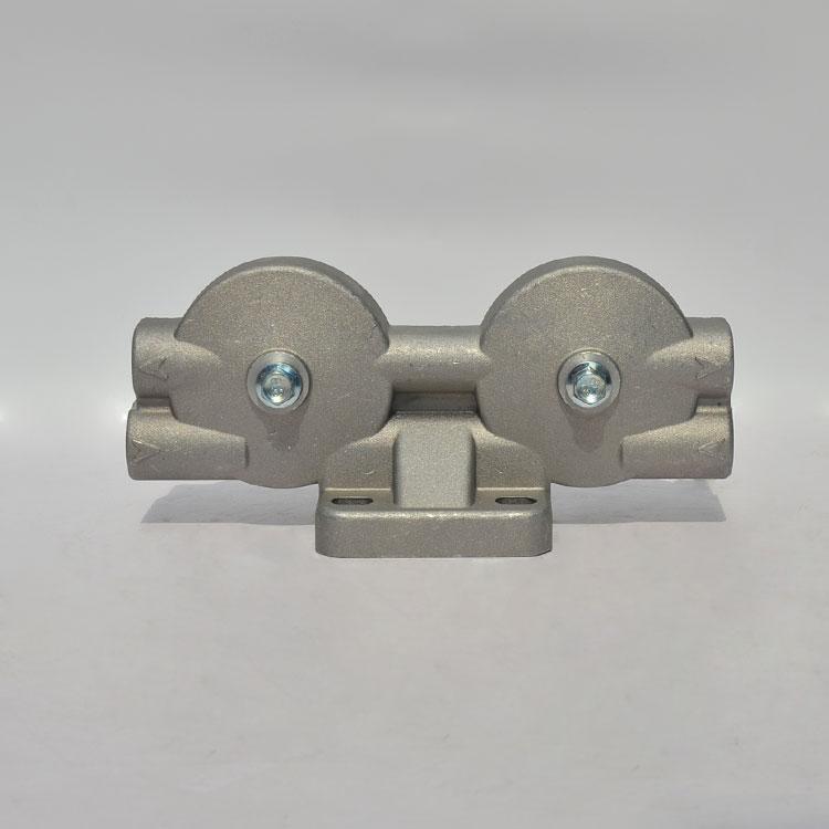 蚌埠金冕柴油滤清器 0710双杯铝座总成 滤芯 柴油芯 柴滤清器滤座