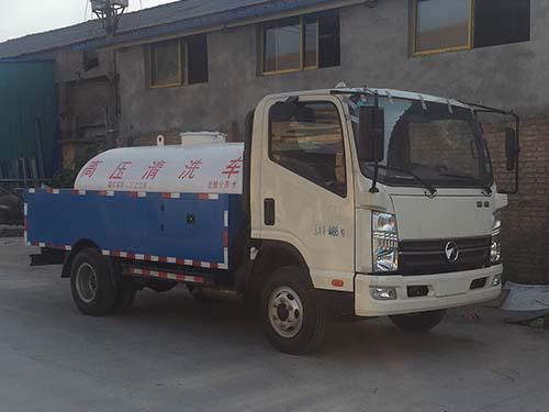 凯马3吨高压清洗车(管道疏通车)高压清洗车图片