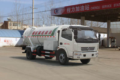 东风8吨清洗吸污车(联合疏通车)高压清洗车图片