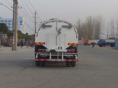 天锦10吨路面高压清洗车图片