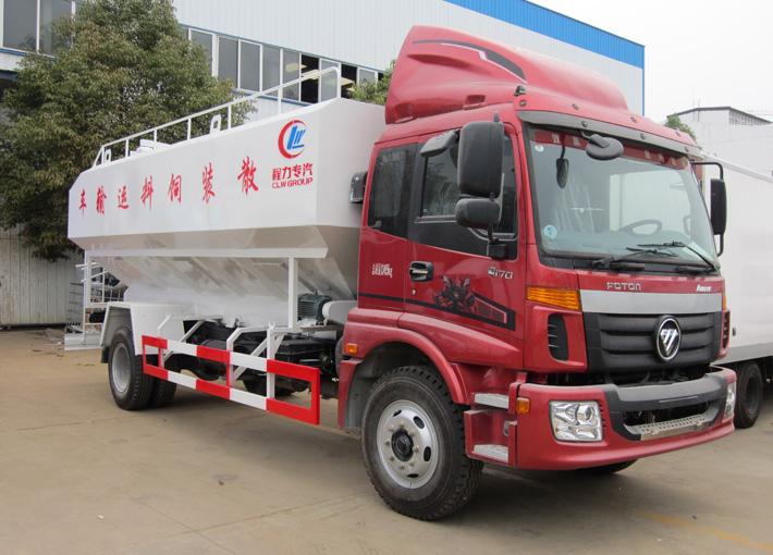福田10吨散装饲料车10吨散装饲料车图片