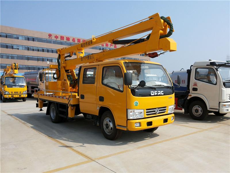 东风16米高空作业车折臂高空作业车图片