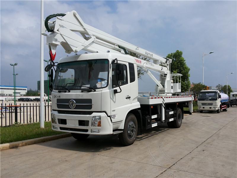 东风天锦20米高空作业车折臂高空作业车图片