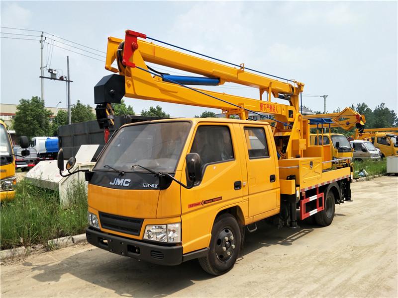 江铃12米高空作业车折臂高空作业车图片