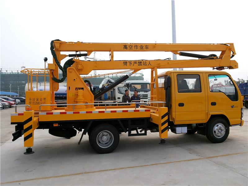 五十铃14米高空作业车折臂高空作业车图片