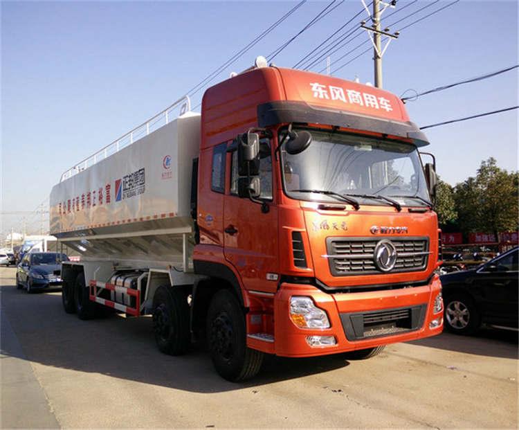 20吨东风天龙散装饲料车散装饲料车图片