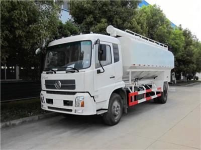 10吨天锦散装饲料车10吨散装饲料车图片