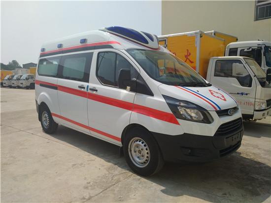 福特救护车福特新全顺救护车(监护型/运输型)福特全顺救护车图片