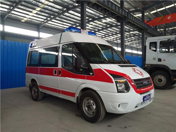福特救护车新世代(短轴)救护车福特全顺救护车图片
