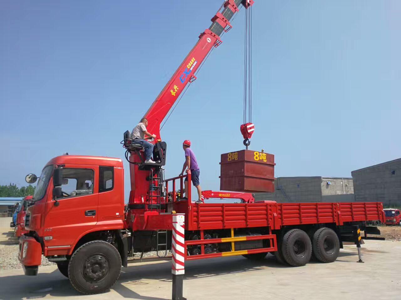 东风锦程10吨随车吊 徐工随车吊10吨随车吊图片