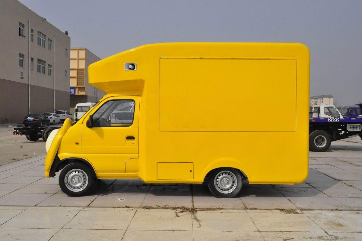 金杯国五卡通流动售货车图片