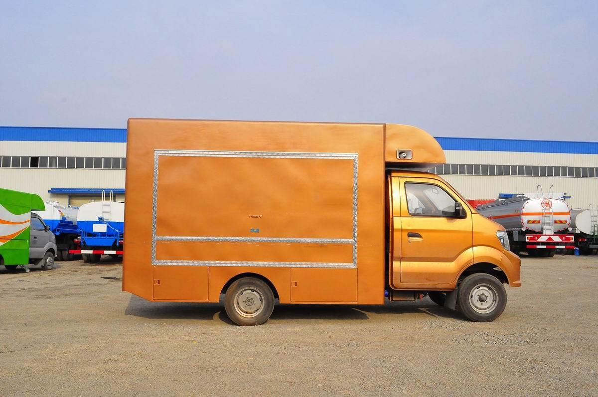 重汽国五流动售货车图片