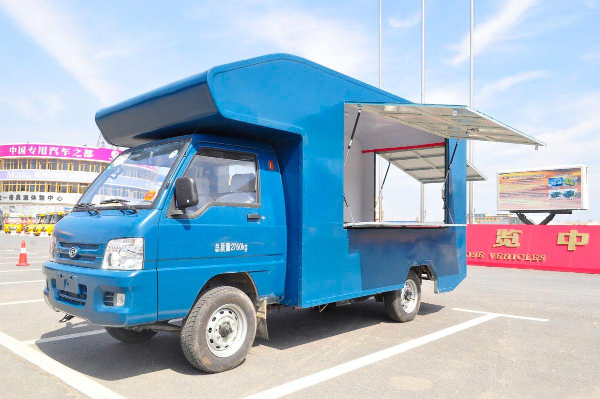 福田国五流动售货车