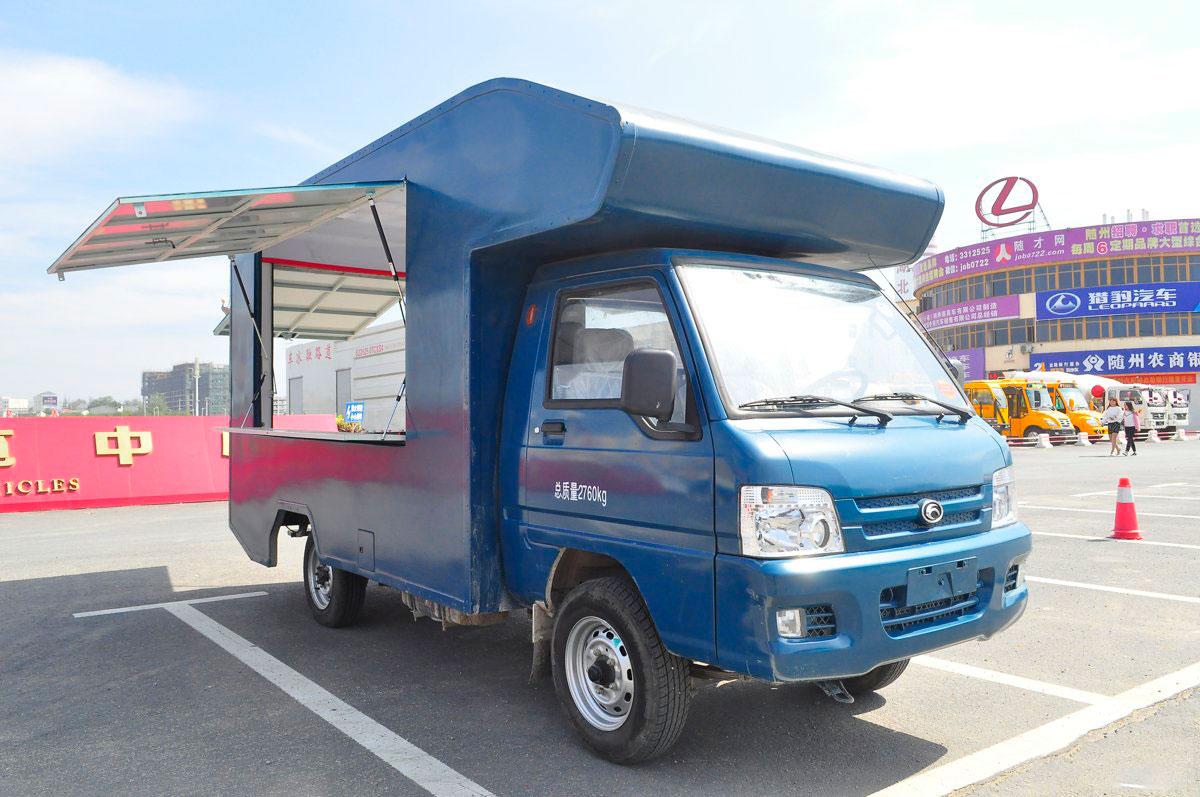 福田国五流动售货车图片