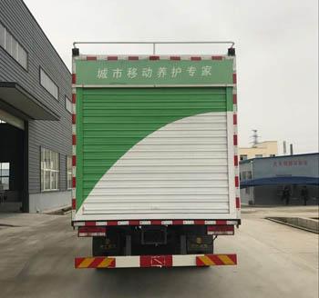 江淮污水处理车图片