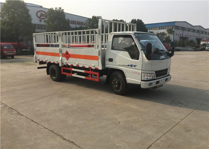 江铃4.2米仓栏气瓶运输车(蓝牌)江铃气瓶运输车图片