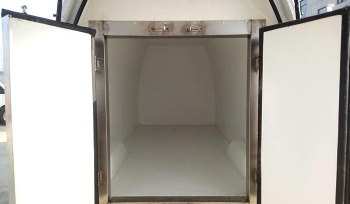 福田G7面包冷藏车图片