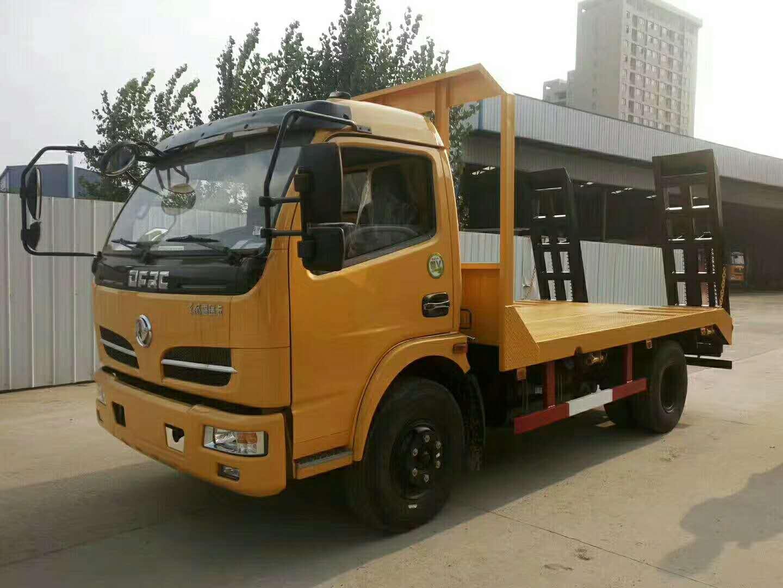 东风福瑞卡8吨平板运输车平板车图片