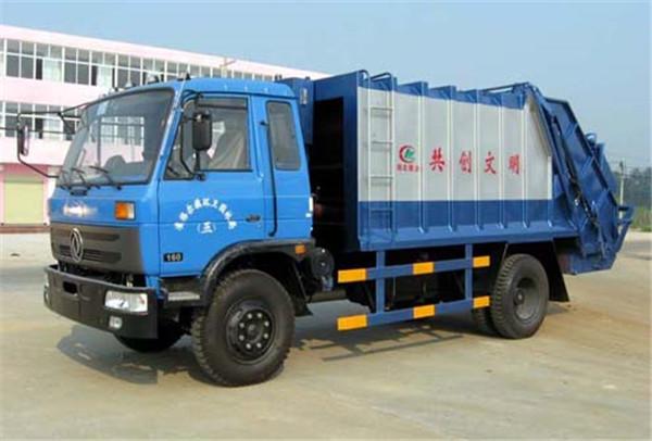 东风145压缩式对接垃圾车东风对接垃圾车图片