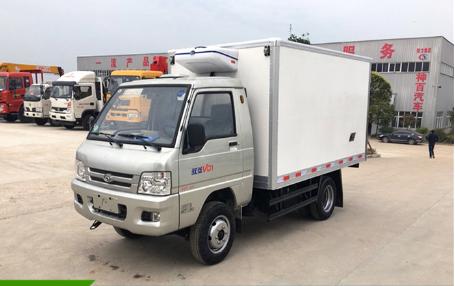 福田驭菱后双轮2.9米小型冷藏车图片
