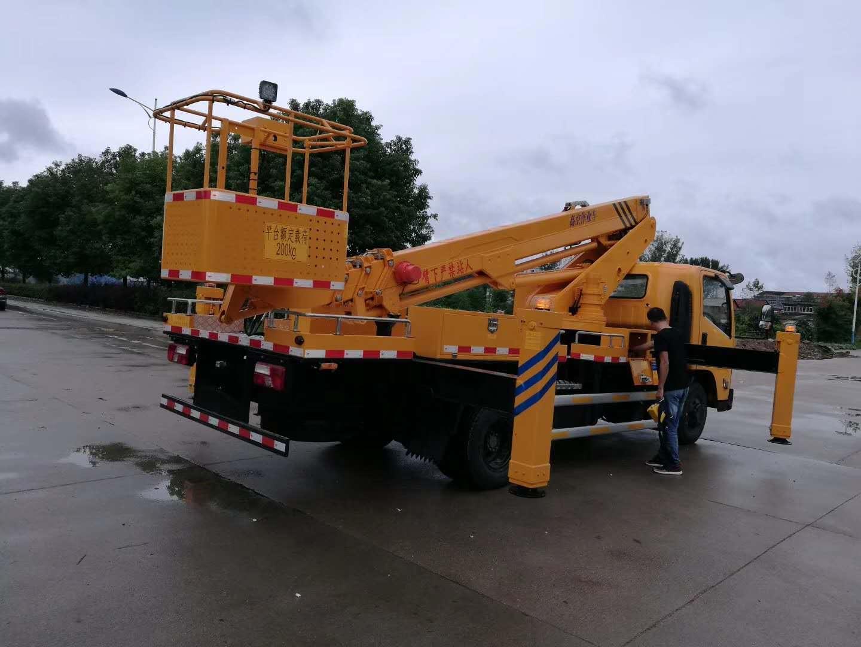 江铃18米伸缩臂高空作业车18米高空作业车图片
