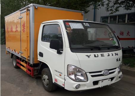 跃进小型防爆车(一类危险品运输车)配置:3米气瓶运输车图片