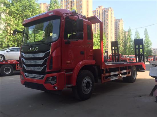 江淮单桥15吨平板车平板车图片