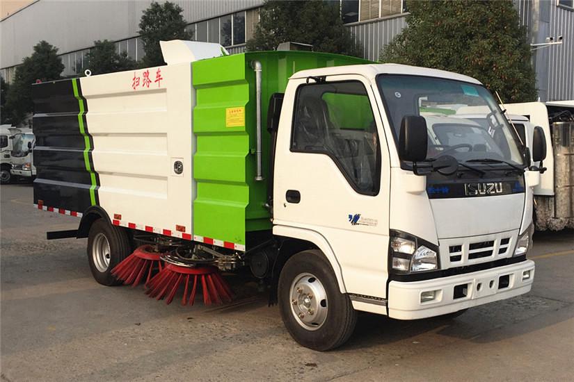 五十铃600P5吨扫路车庆铃五十铃扫路车图片