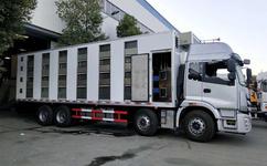 自動恒溫系統豬仔雛禽運輸車圖片