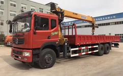 后八轮10吨随车吊解放12吨宏昌天马自备吊售后图片