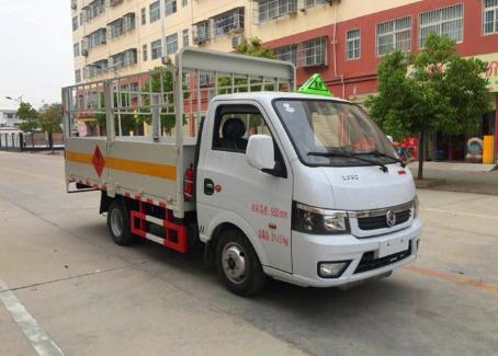 3.18米东风途逸1.485吨气瓶运输车东风气瓶运输车图片