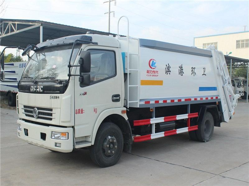 东风8吨压缩垃圾车图片