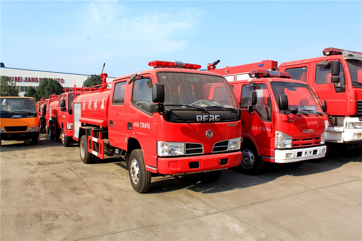 东风多利卡3.5吨森林消防车东风消防洒水车图片
