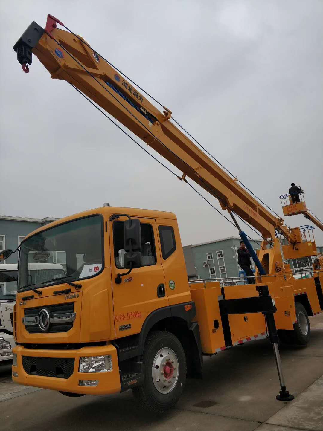 东风22米折臂高空作业车折臂高空作业车图片
