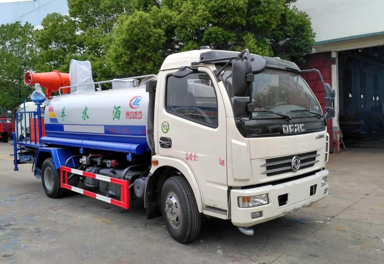 东风多利卡8吨绿化洒水车8吨洒水车图片