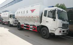 东风天锦大型散装饲料运输车生产厂家直销价格图片