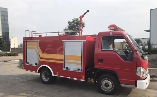 福田3方小型消防车消防洒水车图片