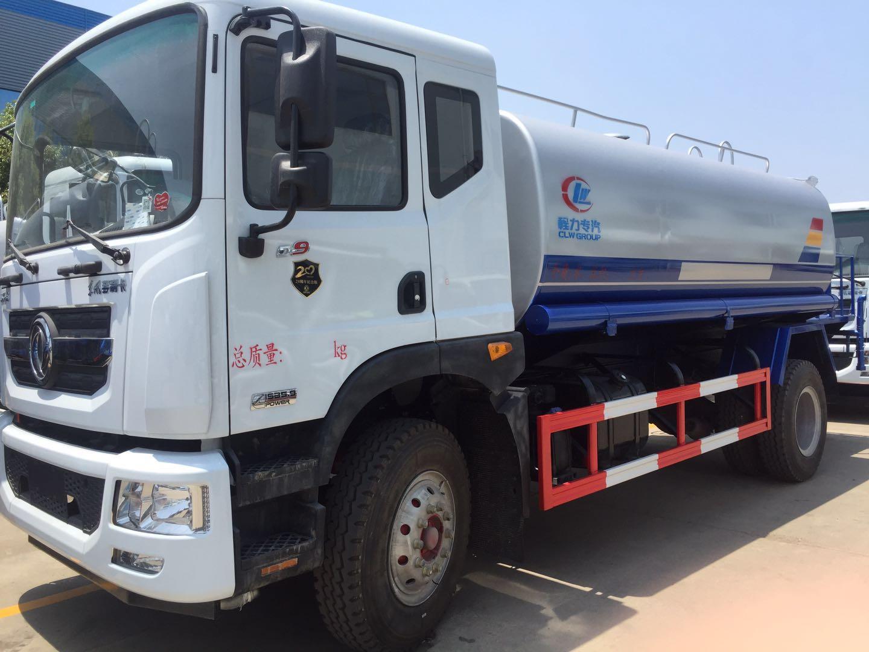 东风8吨多利卡绿化洒水车8吨洒水车图片