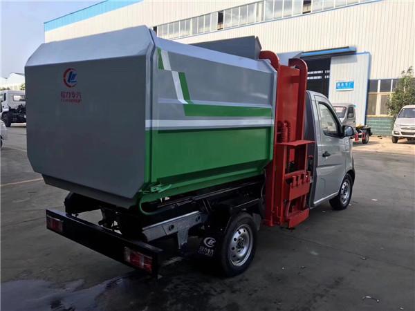 3方长安挂桶垃圾车 汽油版图片