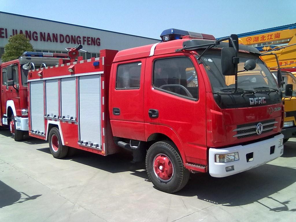 消防车工作视频