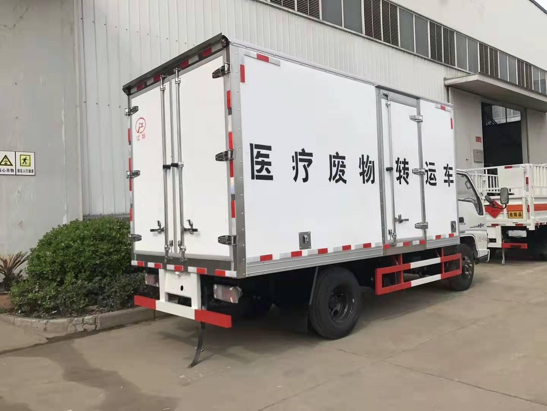 江铃顺达医疗废物运输车图片
