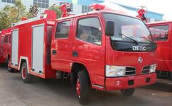 东风多利卡2立方水罐消防车图片