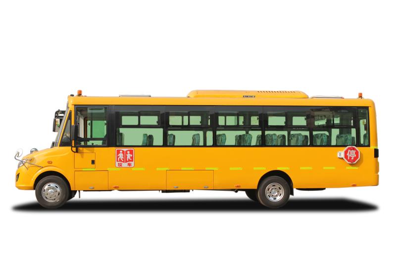 东风莲花56座9米5小学生专用校车图片