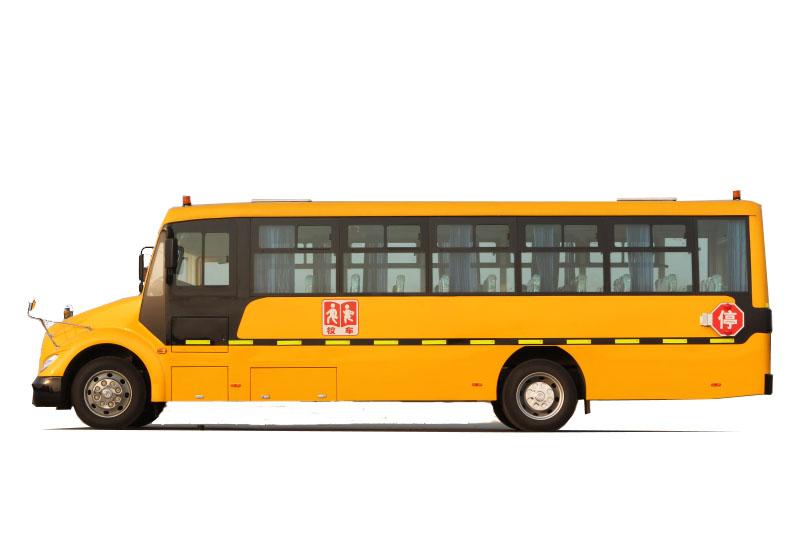 东风莲花51座9米7中小学生专用校车图片