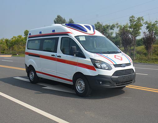 福特新世代短轴救护车图片