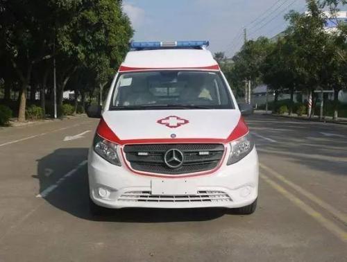 奔驰新威霆救护车图片