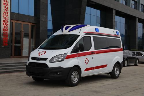 福特V362长轴运输型救护车图片
