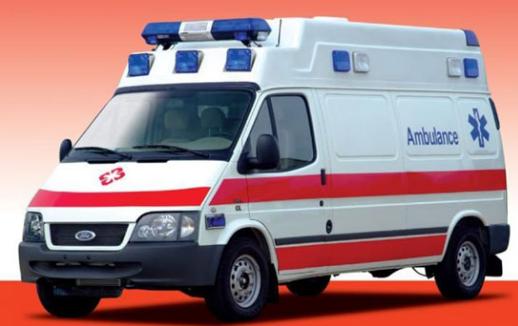 福特救护车福特新全顺救护车图片