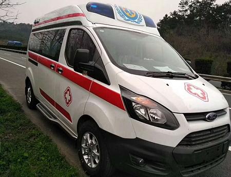 福特救护车福特V362中轴救护车图片