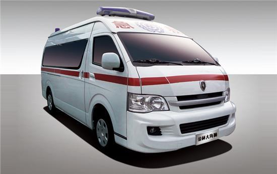 金杯救护车 金杯大海狮2.7救护车图片